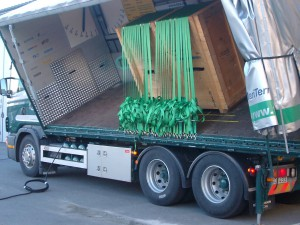 Lastsakringsbilen 30 band sidled