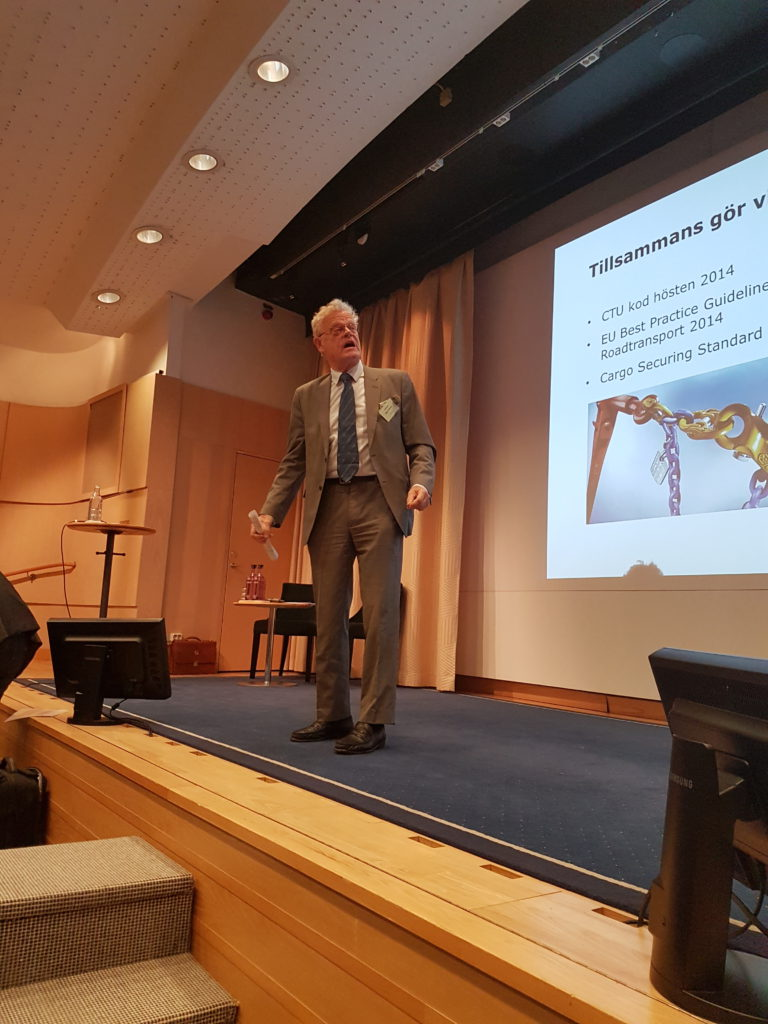 Moderator Björn Eriksson